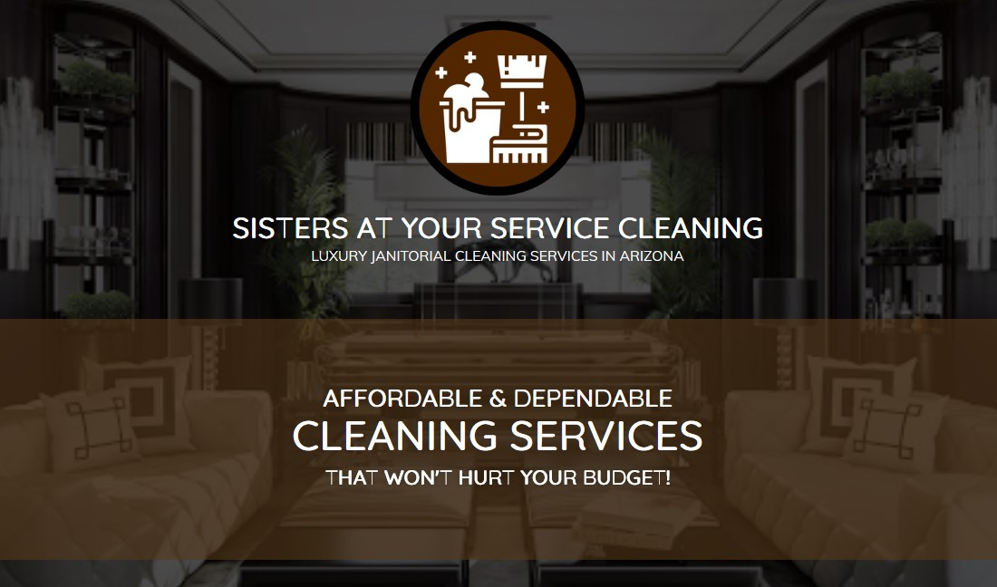 Sisters At Your Service Cleaning - Arizona | Luxury Janitorial Services