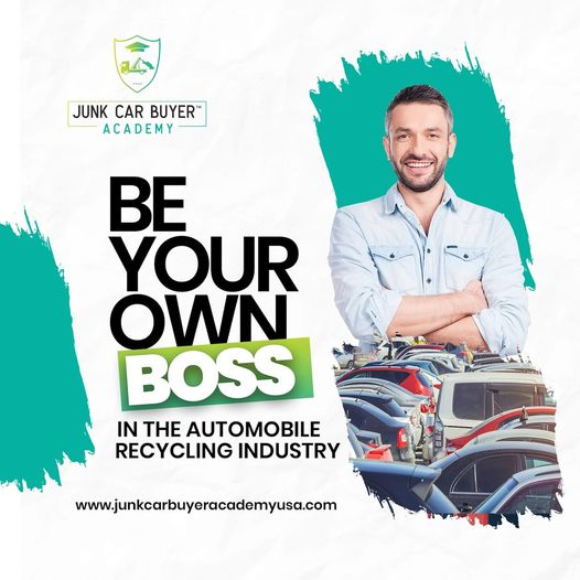 Junk Car Buyer Academy USA on Visibility Kings | Automobile Recycling Curriculum | Be Your Own Boss! Become a successful Junk Car Buyer with our eLearning resources!